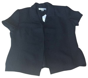 Casual Corner Button Down Shirt Black