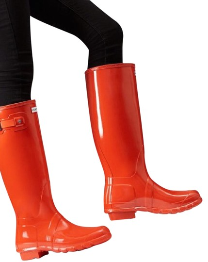 Hunter Orange Boots