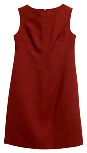 Talbots short dress Red dark Wool Short on Tradesy