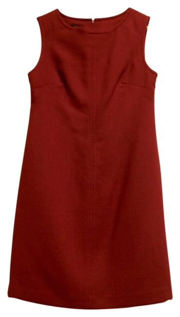 Preload https://item5.tradesy.com/images/talbots-red-dark-wool-above-knee-short-casual-dress-size-petite-2-xs-1456499-0-0.jpg?width=400&height=650