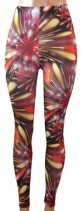 Krazy Love Red & Yellow Leggings