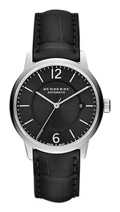 Burberry Burberry Black The Classic Round Bu10300 40mm Automatic Aligator Leather