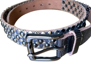 JOE'S Jeans Studded leather belt