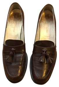 Robert Clergerie Brown Flats