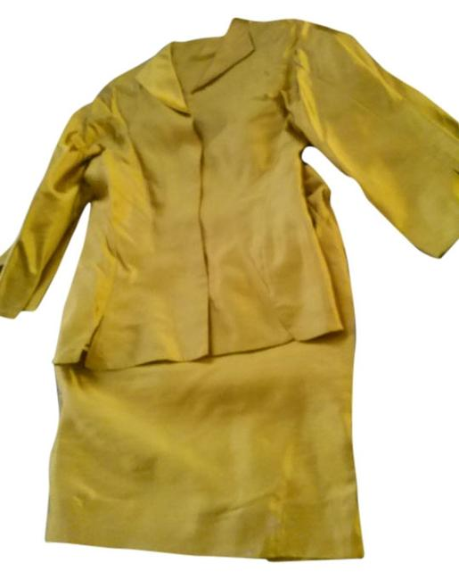 Item - Mustard Luxury Couture Skirt Suit Size 10 (M)