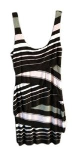 Bailey 44 short dress Brown Multicolor Stripe Sleeveless on Tradesy