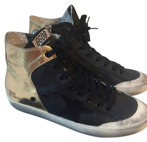 Golden Goose Deluxe Brand Leather black/gold Athletic