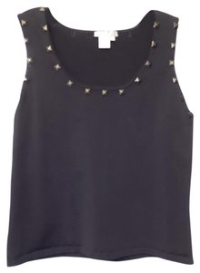Alberto Makali Studded Sleeveless Xl Sweater