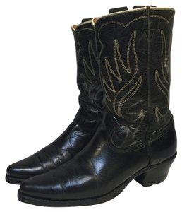Acme Rock A Billy Boot Scootin' Black Boots