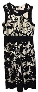 Jones New York Sleeveless Floral Print Dress