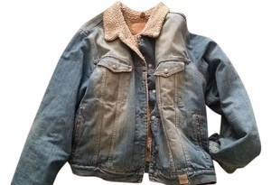 Abercrombie & Fitch Tan Jean Jacket Men Mens Jacket