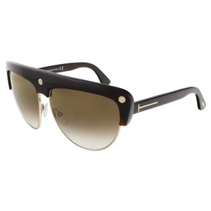 Tom Ford Tom Ford Brown Aviator Sunglasses