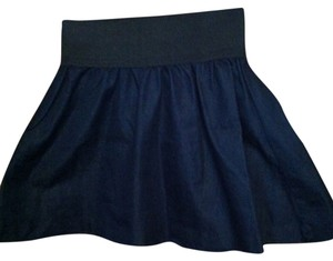 Miley Cyrus & Max Azria Cryus Flare Skirt Navy