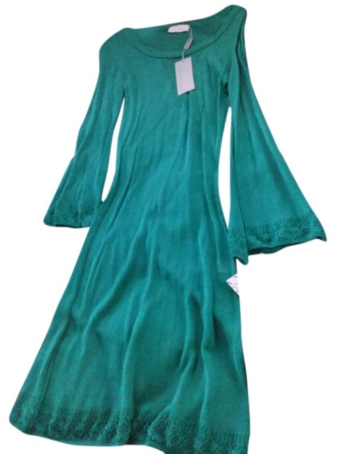Preload https://img-static.tradesy.com/item/14567290/emerald-green-made-in-italy-mid-length-night-out-dress-size-10-m-0-1-650-650.jpg