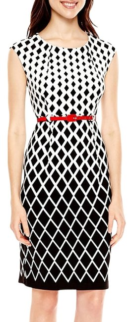 Preload https://img-static.tradesy.com/item/14567584/r-and-k-originals-black-and-white-r-k-knee-length-workoffice-dress-size-10-m-0-1-650-650.jpg