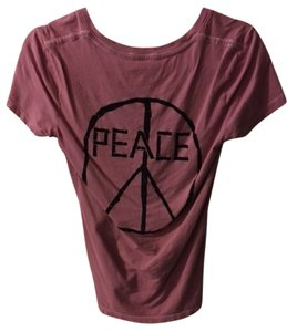 True Religion Peace Studs T Shirt pink, black