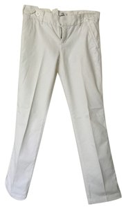 Express Summer Spring Casual Business Casual Straight Pants White