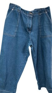 Westbound Capri/Cropped Denim-Medium Wash