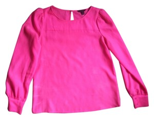 J.Crew Hot Dress-up Professional Top Pink