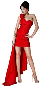 Jovani Sleeveless One Shoulder Dress