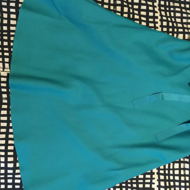 Ann Taylor short dress Turquoise Teal Strapless on Tradesy Image 2