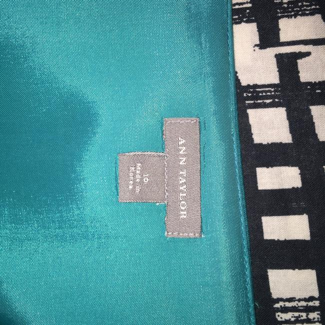 Ann Taylor short dress Turquoise Teal Strapless on Tradesy Image 5