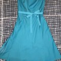 Ann Taylor short dress Turquoise Teal Strapless on Tradesy Image 6