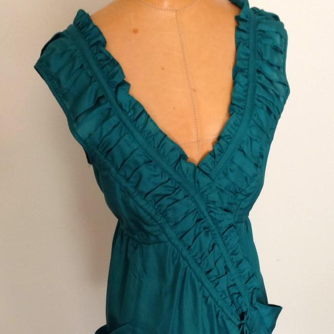 Nanette Lepore short dress Deep Aqua Green on Tradesy