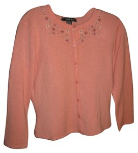 Laundry by Shelli Segal Embroidered Cardigan