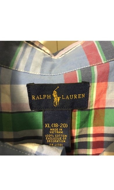 Ralph Lauren Button Down Shirt Multi Image 3