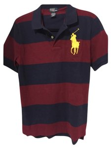 Polo Ralph Lauren T Shirt Blue red