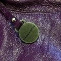 Rabeanco Satchel in Purple Image 1