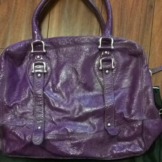 Rabeanco Satchel in Purple Image 2