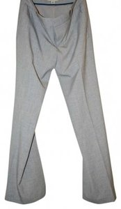 Banana Republic Work Trousers Wide Leg Pants Grey