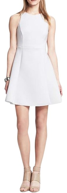 Banana Republic Fit And Flare Scuba Dress Image 0