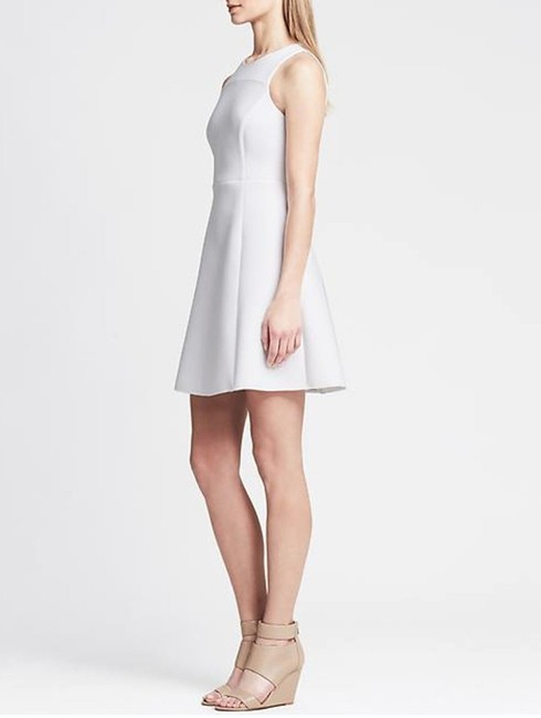 Banana Republic Fit And Flare Scuba Dress Image 1