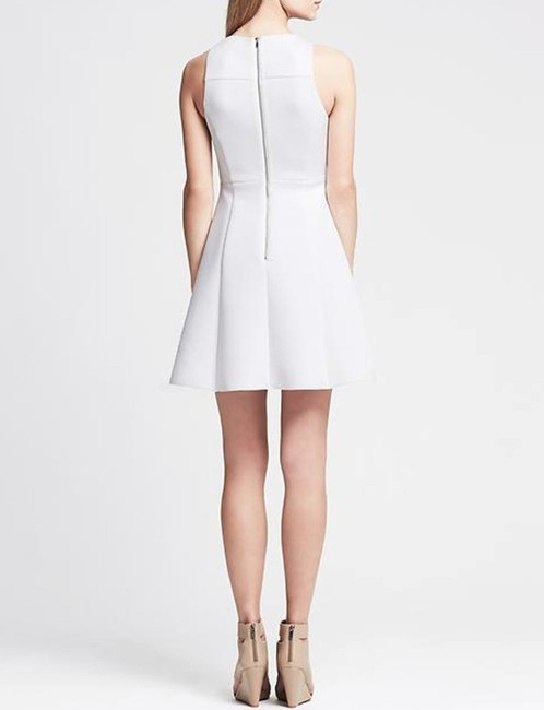 Banana Republic Fit And Flare Scuba Dress Image 2