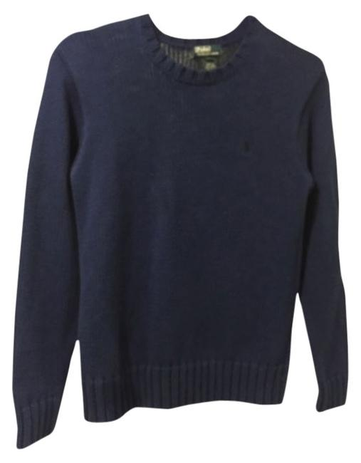 Preload https://img-static.tradesy.com/item/14569498/polo-ralph-lauren-blue-by-sweaterpullover-size-10-m-0-1-650-650.jpg