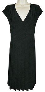 Jones Wear Lbd Faux Wrap Size 8 Dress