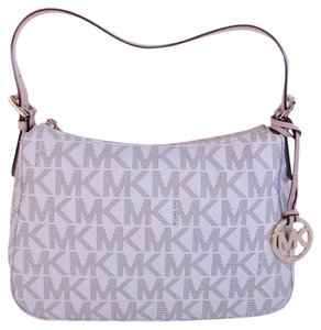 Michael Kors Jet Set Mk Pvc Shoulder Bag