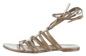 Saint Laurent Olive Sandals