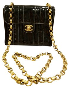 Chanel Patent Cross Body Bag