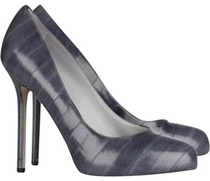 Sergio Rossi Smoky blue-grey Pumps