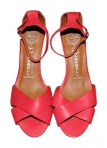 Jeffrey Campbell Salmon/Red Sandals