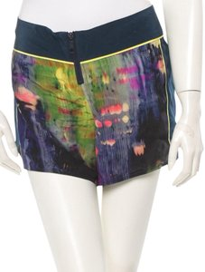 Elizabeth and James Silk Resort Mini/Short Shorts Navy & Floral