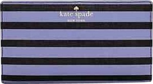 Kate Spade Fairmount Square Stacy black/thistle purple wallet wristlet