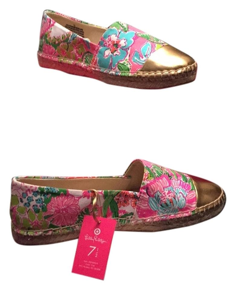 6081558d43b Lilly Pulitzer for Target Pink Nosey Posey Espadrilles Flats Size US ...