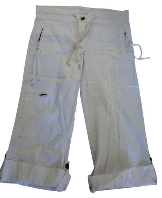 Item - White Light Wash Pants Relaxed Fit Jeans Size 33 (10, M)