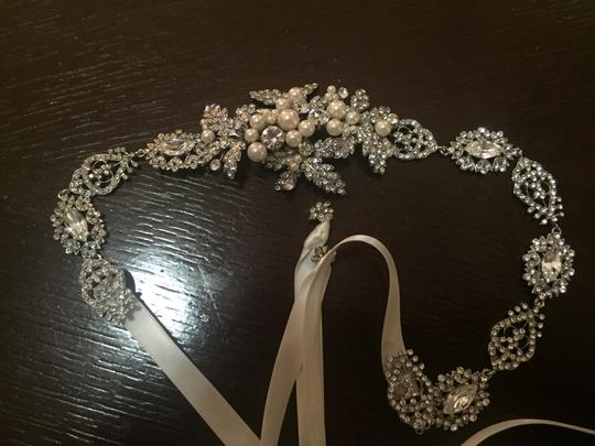 BHLDN Silver Pearl Ivory Twigs and Honey