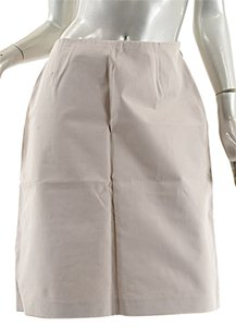 Michael Kors Cotton Skirt Khaki